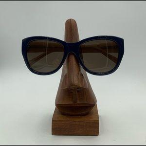 Flower 100 Blue Oval Cat Eye Sunglasses Frames